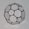 Truncated icosahedron model