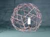 Multi-strut tensegrity sphere