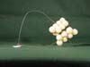 20 Ping Pong Balls on Wire