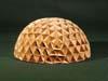 Paper half dome