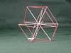 Red & White Vector equilibrium around