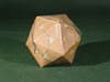 4 V Icosahedron, closest packing of spheres