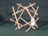 Bamboo 12 strut tetrahedron
